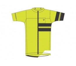 Bontrager Circuit Jersey High Visibility Vs-maat=large