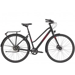 Trek District 3 Equipped Stagger Dn7 50, Matte  Black