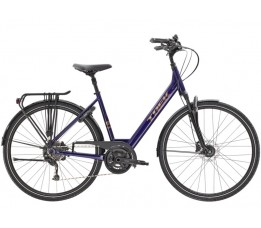 Trek Verve 3 Equipped Lowstep Ds24 55, Purple Abyss