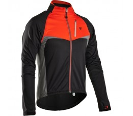 Bontrager Rl Convertible Softshell Jersey Black/red Vs-maat=medium;eu-maat=large