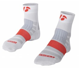 Bontrager Rxl 2.5 Sock White Maat=43-45 (large)