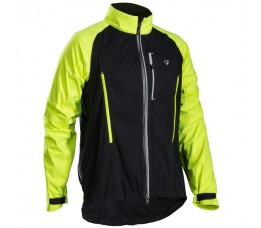 Bontrager Evoke Stormshell Jacket Black/visibility Yellow Vs-maat=medium;eu-maat=large