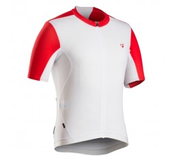Bontrager Rxl Summer Jersey White/bonty Red Vs-maat=medium;eu-maat=large