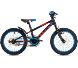Cube Cube Kid 160 , Black/flashred/blue