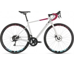 Cube Axial Ws Pro Disc White/berry 2019, White/berry