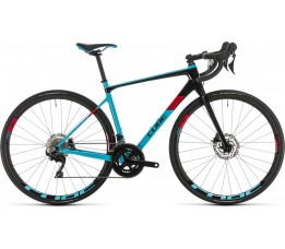 Cube Axial Ws Gtc Pro, Lightblue/red