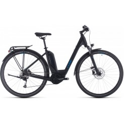 Cube Touring Hybrid One 400 Black/blue 2020, Black/blue