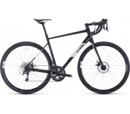 Cube 2020 Attain Race Black/white 2020