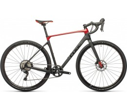 Cube Nuroad C:62 Pro Carbon/red 2021, Carbon/red