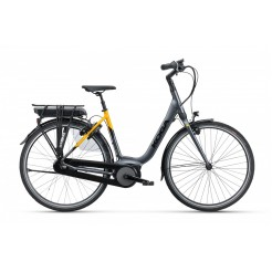 Koga E-nova 500wh Dn8 53, High-tech Grey Metallic/lemon