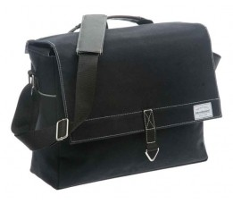 New Looxs Tas New Looxs Dock Messenger Zw Canvas Zwart 361.410