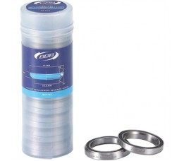 Bbb Bhp-182 Headset Replacement Bearings 1.1/8' 41x6.5 Crmo 36x45 20 Stuks Mr122 Zwart