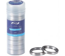 Bbb Bhp-183 Headset Replacement Bearings 1.1/4' 46.8x7 Crmo 45x45 20 Stuks Mr168 Zwart