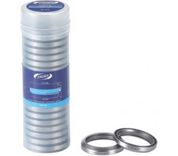 Bbb Bhp-184 Headset Replacement Bearings 1.3/8' 48.9x6.5 Crmo 36x45 20 Stuks Mr031 Zwart