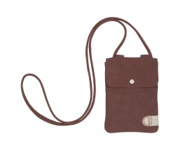Cortina Cort Tunis Phone Bag Leat/canv Cycl