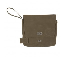 Cortina Cort Stockholm Tablet Bag Leat Oliv