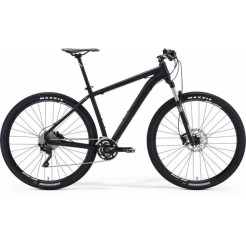 Merida Big Nine Xt-edition 43 Mat Zwart , Donkergrijs