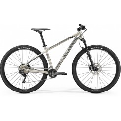 Merida Big Nine 500 Silk Titan/silver/black 18.5, Grijs
